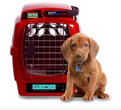 Κλουβιά μεταφοράς για σκύλους